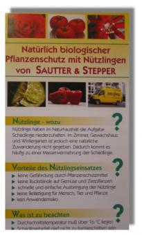 "Infobroschüre ""Nützlinge per Post"""