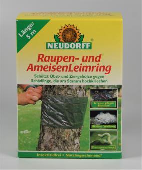 Raupen- und Ameisenleimring mit Bindedraht, 5m