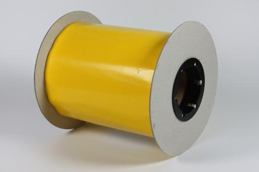 Rollfolie gelb 15 cm x 100 m
