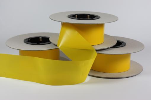 Rollfolie gelb 5 cm x 100 m